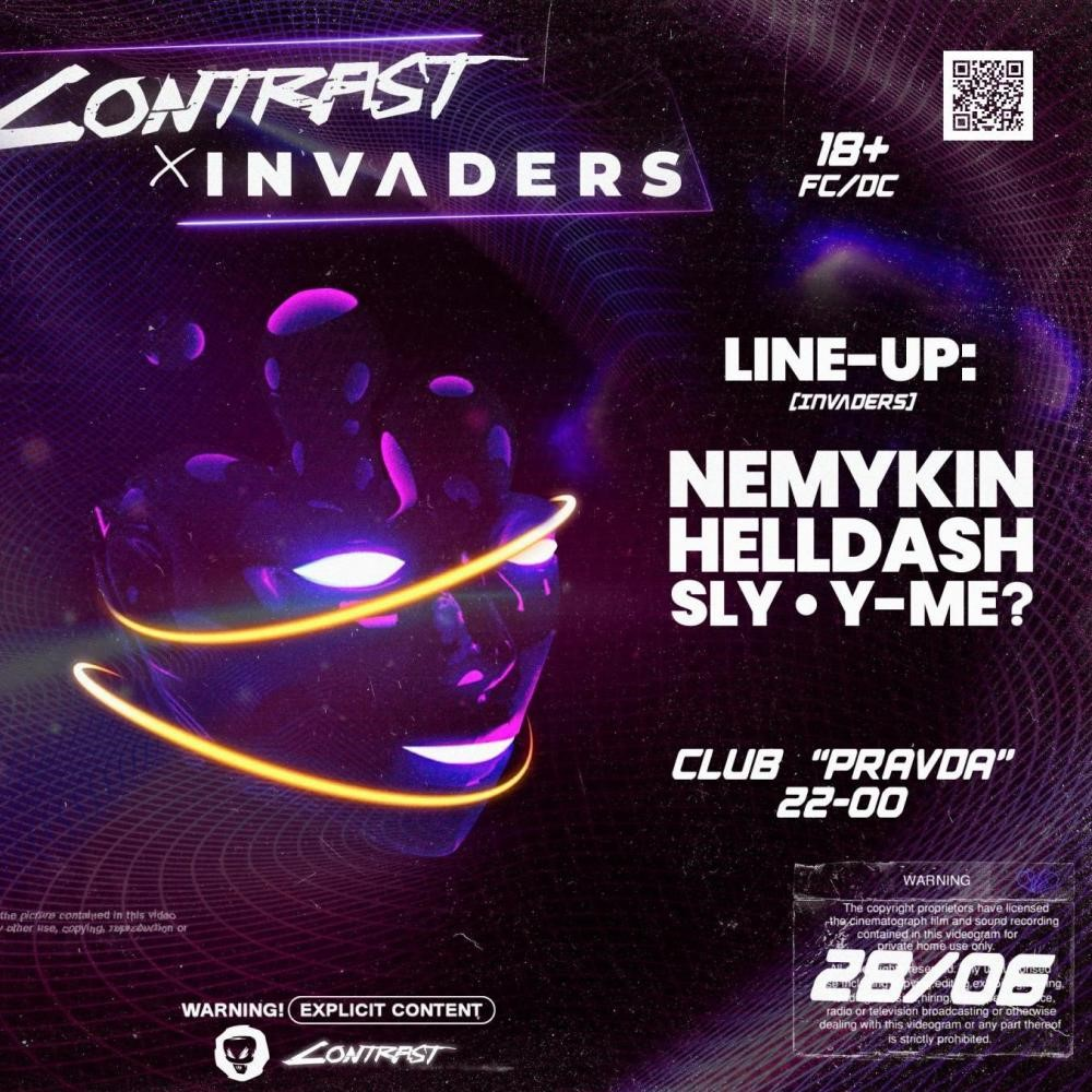 CONTRAST x INVADERS