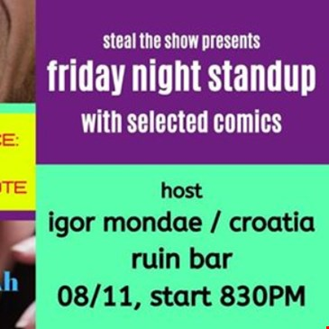 Friday Stand-Up in English