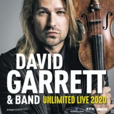 "David Garrett – ""Unlimited – Live"""