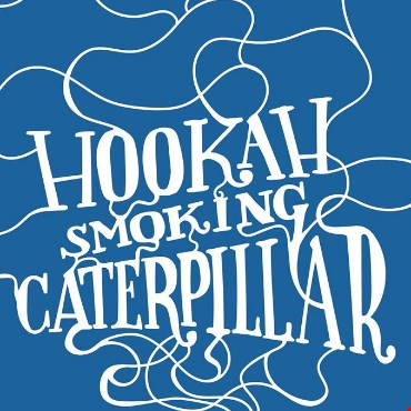 HOOKAH SMOKING CATERPILLAR
