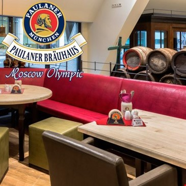 Paulaner Bräuhaus Moscow Olympic